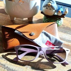 *RARE* Ray-Ban Liteforce in lilac